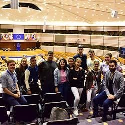 Визита в Европейския парламент