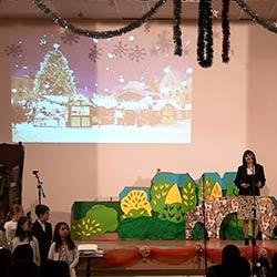"""Коледен спектакъл """"Силата на доброто"""" на учениците от 1. и 3. клас на ЧОУ Образователни технологии"""