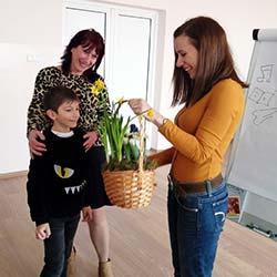 Посещение на детски писател - Радостина Николова