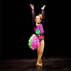 Световна титла в танца за Деяна Миликина